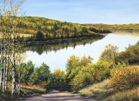 THE NORTH SASKATCHEWAN RIVER - SOLD