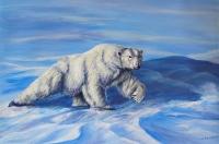 Polar Bear Plight - Sold