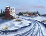WINTER REMINISCE - Sold